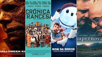 'Halloween Kills', 'La crónica francesa', 'Ron da error' y 'Supernova' destacan entre los estrenos de cine del fin de semana