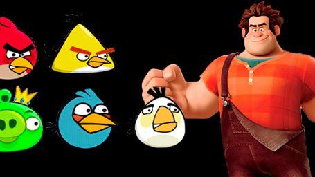 '¡Rompe Ralph!': ¿aparecerán los Angry Birds en la secuela?