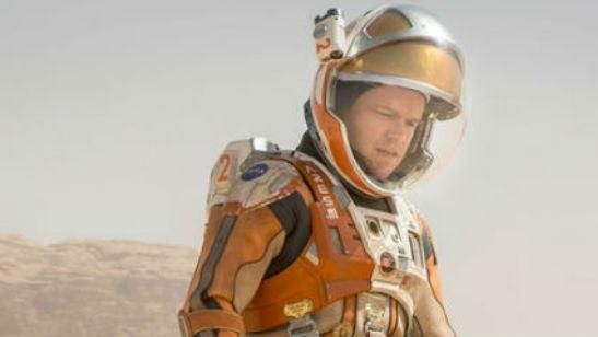 'The Martian': Primer vistazo a Jessica Chastain y Kristen Wiig en las nuevas imágenes de la película