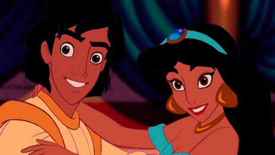 Las voces de Aladdin y Jasmine de Disney se reencuentran en la D23 Expo