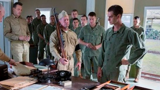 Primera foto de Andrew Garfield en la película 'Hacksaw Ridge'