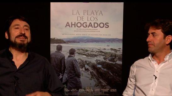 'La playa de los ahogados': Carmelo Gómez y Antonio Garrido nos cuentan cómo fue el rodaje