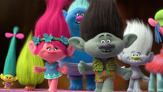 La cinta de animación 'Trolls' se convierte en el nuevo líder de la taquilla