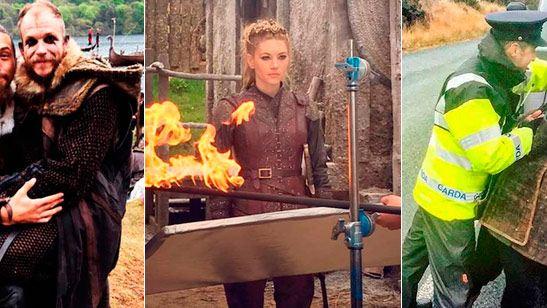 'Vikings': Descubre el día a día de los actores a través de Instagram