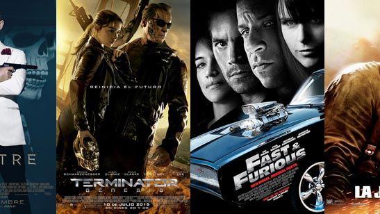 Las 10 franquicias de acción más taquilleras del cine