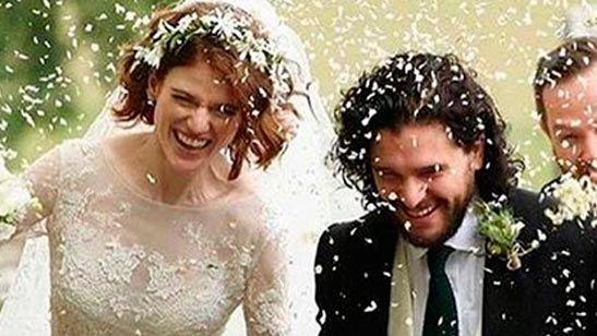 'Juego de tronos': Así ha sido la boda de Kit Harington y Rose Leslie