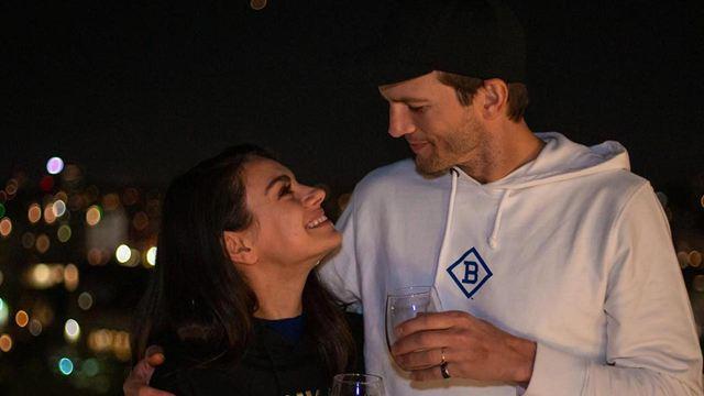 Ashton Kutcher y Mila Kunis también son fans de 'La Vaca Lola'
