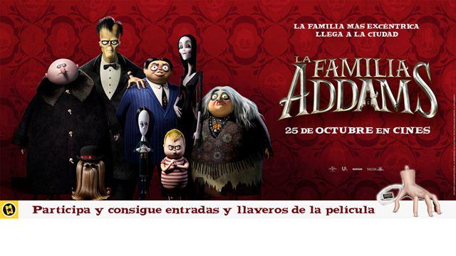 ¡SORTEAMOS ENTRADAS Y REGALOS DE 'LA FAMILIA ADDAMS'!