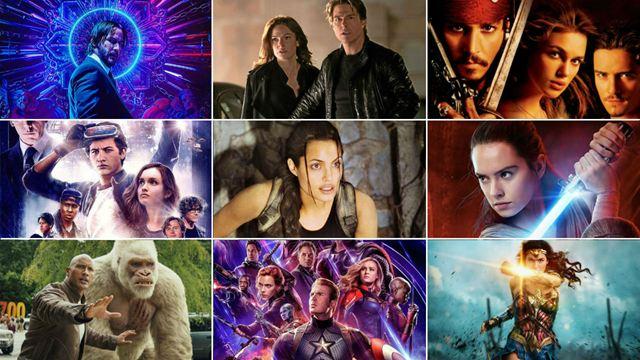 Las 109 mejores películas de acción y aventuras en Netflix, HBO, Amazon, Filmin y Disney+