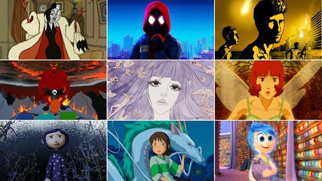 Las mejores películas de animación de todos los tiempos