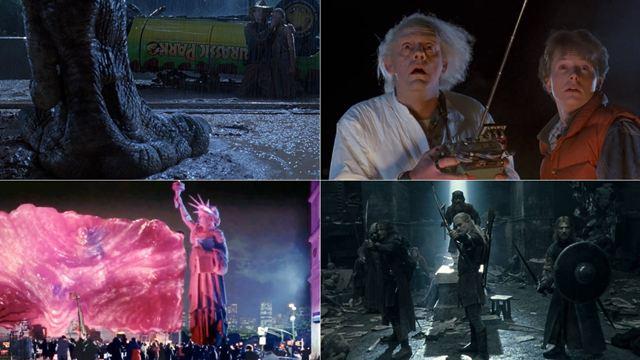 'Jurassic Park', 'Regreso al futuro', 'El Señor de los Anillos'... 19 películas que hemos visto cientos de veces y de las que nunca nos cansamos