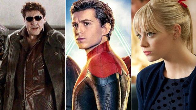 'Spider-Man 3': 8 personajes confirmados para el 'crossover' de Sony y Marvel Studios (y 11 que todavía son un rumor)