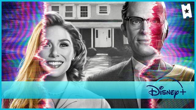 Conoce a Bruja Escarlata y Visión (Disney+), tus nuevos vecinos favoritos, con el abecedario de la serie de Marvel. ¡Bienvenidos al barrio!