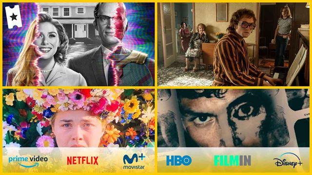 'Bruja Escarlata y Visión' y otras 7 recomendaciones de series y películas para ver este fin de semana en Netflix, Movistar+, Disney+, Amazon Prime Video, Filmin o gratis en abierto