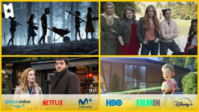 8 películas y series para ver este fin de semana en Netflix, HBO, Disney+, Movistar+ y gratis en abierto