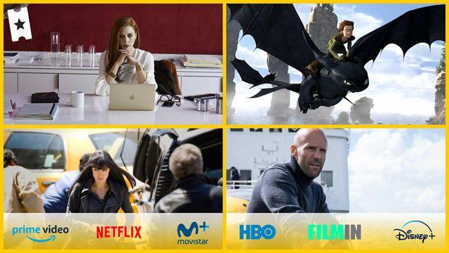Películas que te recomendamos para ver el fin de semana en Netflix, Amazon Prime Video, Disney+ y gratis en abierto