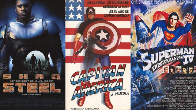 Las peores películas de superhéroes de Marvel y DC