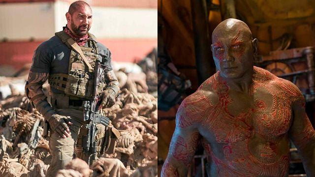 """Zack Snyder o James Gunn: Dave Bautista recuerda la """"desgarradora"""" elección que tuvo que hacer entre 'Ejército de los muertos' y 'El Escuadrón Suicida'"""