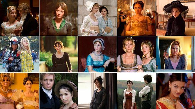'Emma.', 'Orgullo y prejuicio', 'Sentido y sensibilidad', 'Persuasión'... Las mejores adaptaciones de Jane Austen