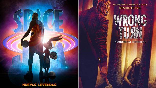 'Space Jam: Nuevas leyendas' y 'Wrong Turn: Sendero al infierno' destacan entre los estrenos del fin de semana