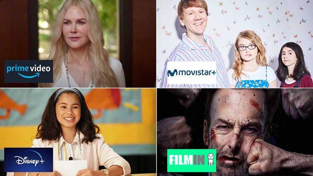 Estrenos de películas y series en Amazon Prime Video, Disney+, Movistar+ y Filmin en la semana del 16 al 22 de agosto