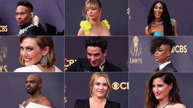 Emmys 2021: Los 'looks' de  la alfombra roja más esperada