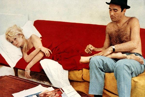 Foto de Michel Piccoli - El desprecio : Foto Brigitte Bardot ...