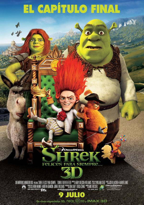 Shrek Felices Para Siempre Pelicula 2010 Sensacine Com