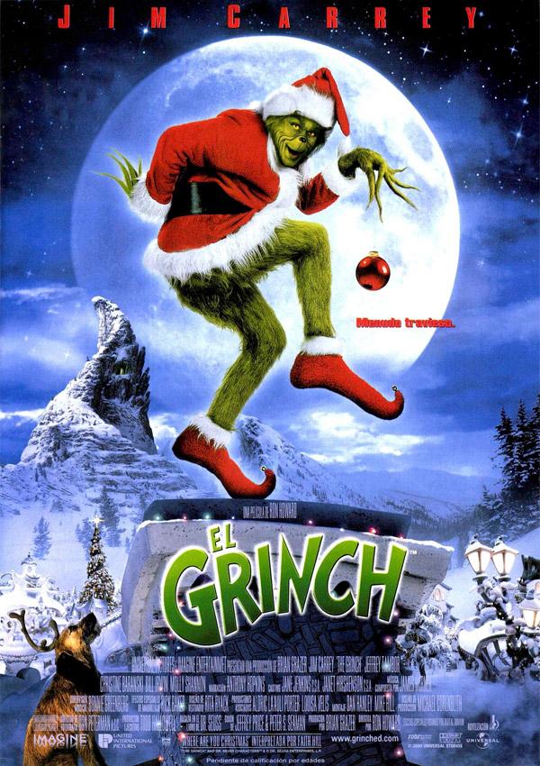 el grinch, disney +, navidades, fiestas, películas navideñas para niños