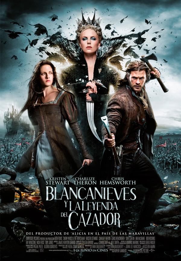 Resultado de imagen de Blancanieves y El Cazador (2012)