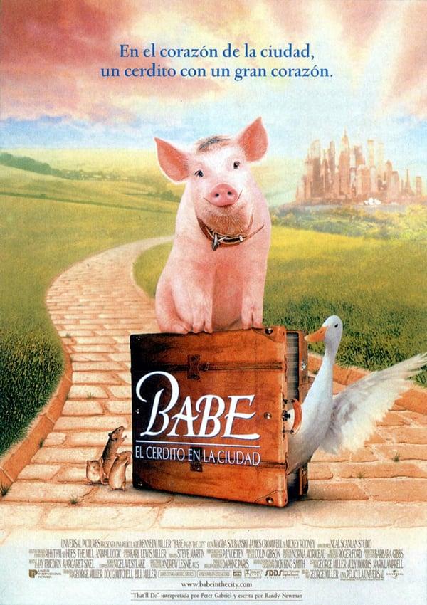 Reparto Babe, el cerdito en la ciudad - Equipo Técnico, Producción ...