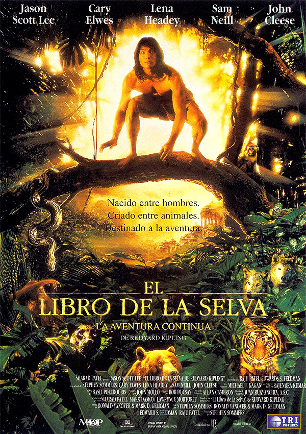 El libro de la selva: La aventura continúa - Película 1994