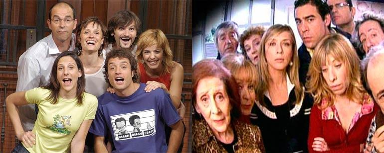 Así eran los actores de 'La que se avecina' cuando estaban en 'Aquí no hay  quien viva' - SensaCine.com