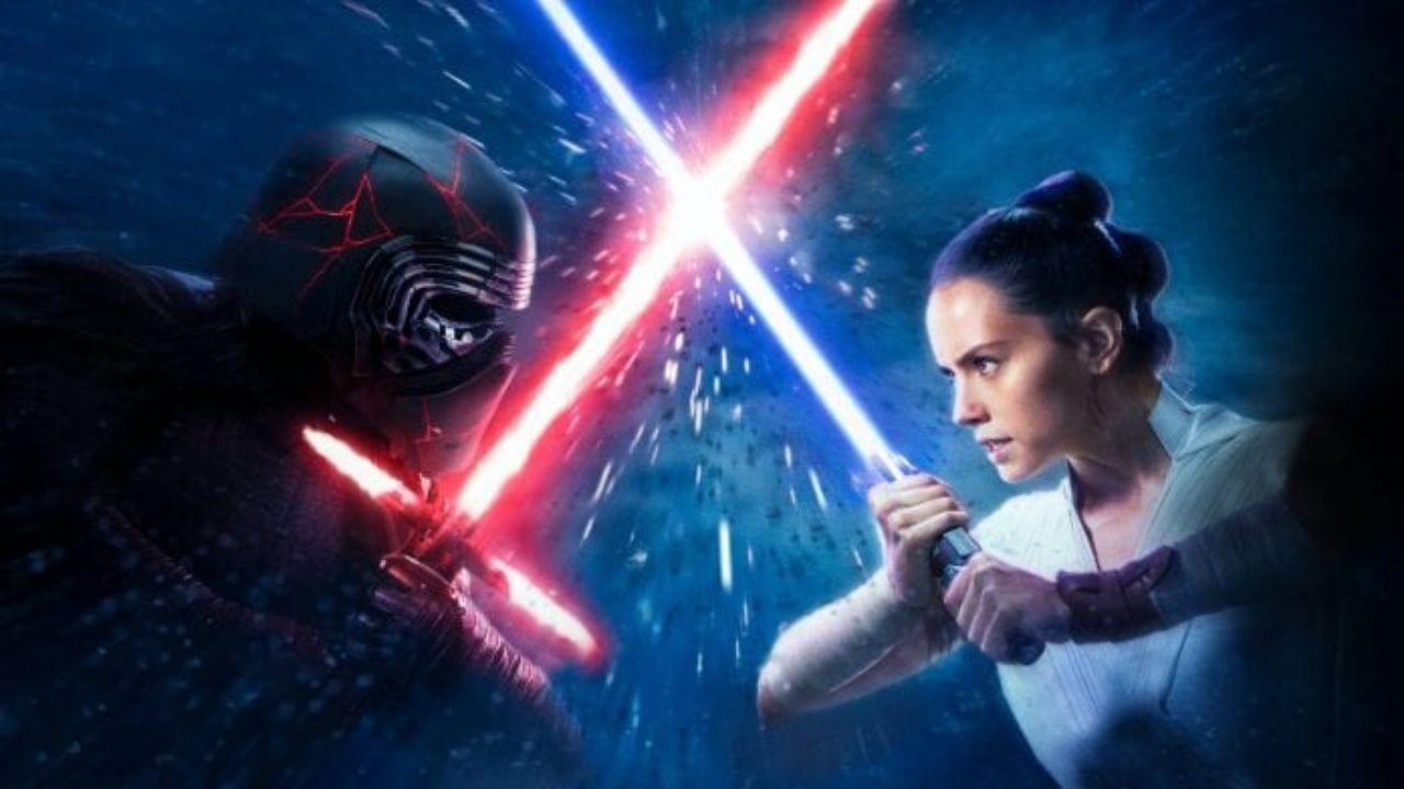 Kylo Ren y Rey de Star Wars