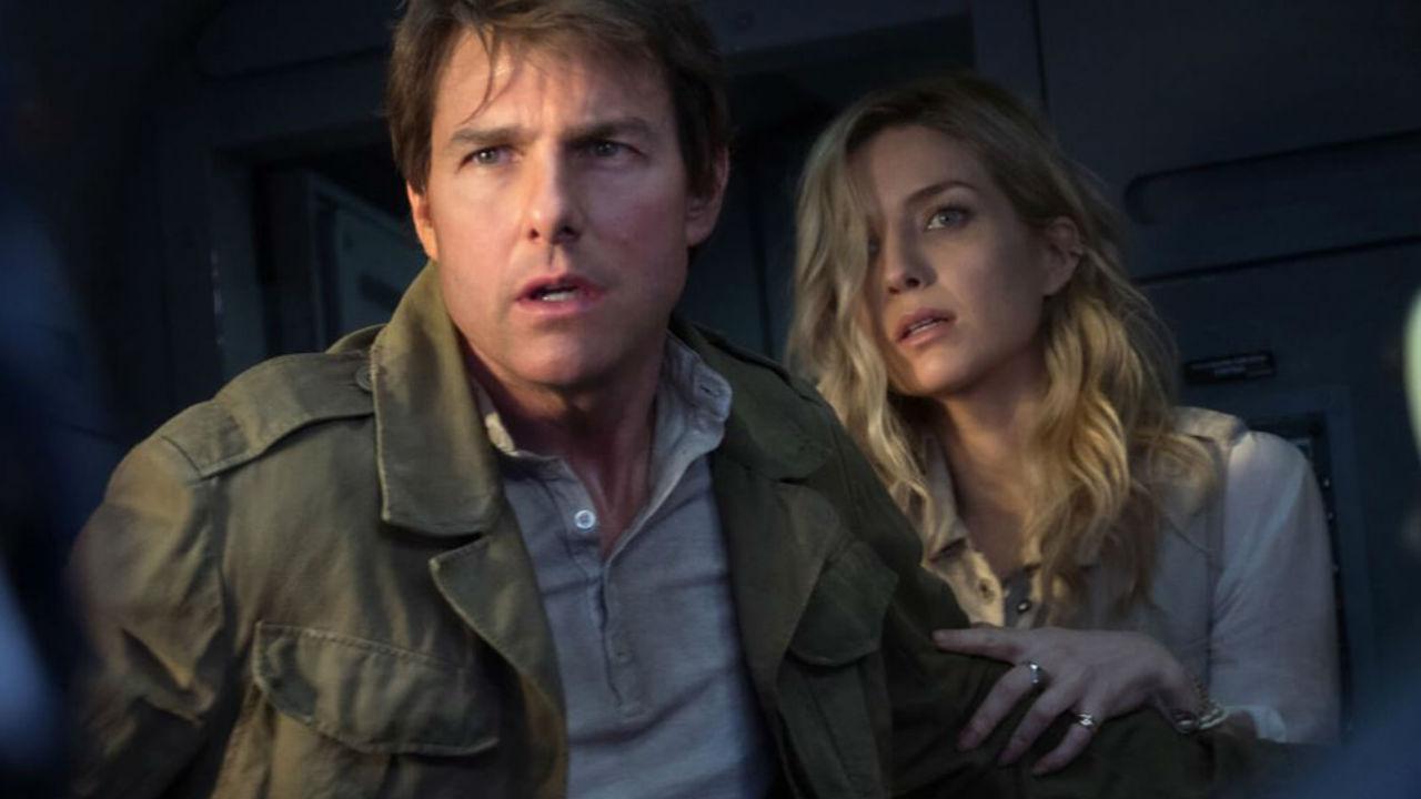 Annabelle Wallis Warren La Momia Tom Cruise