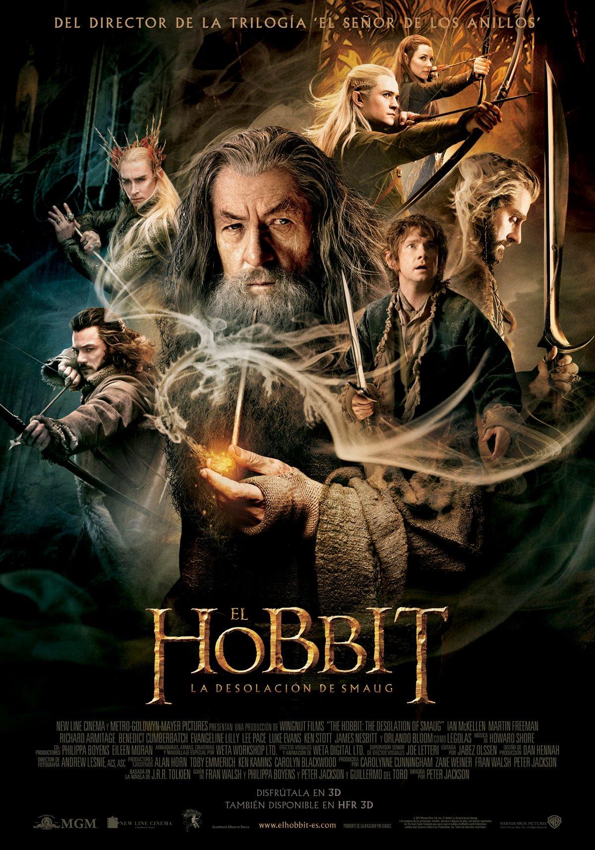 El Hobbit La Desolación De Smaug Película 2013 Sensacine Com