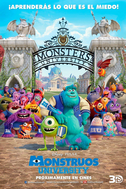 Monstruos University Pelicula 2013 Sensacine Com