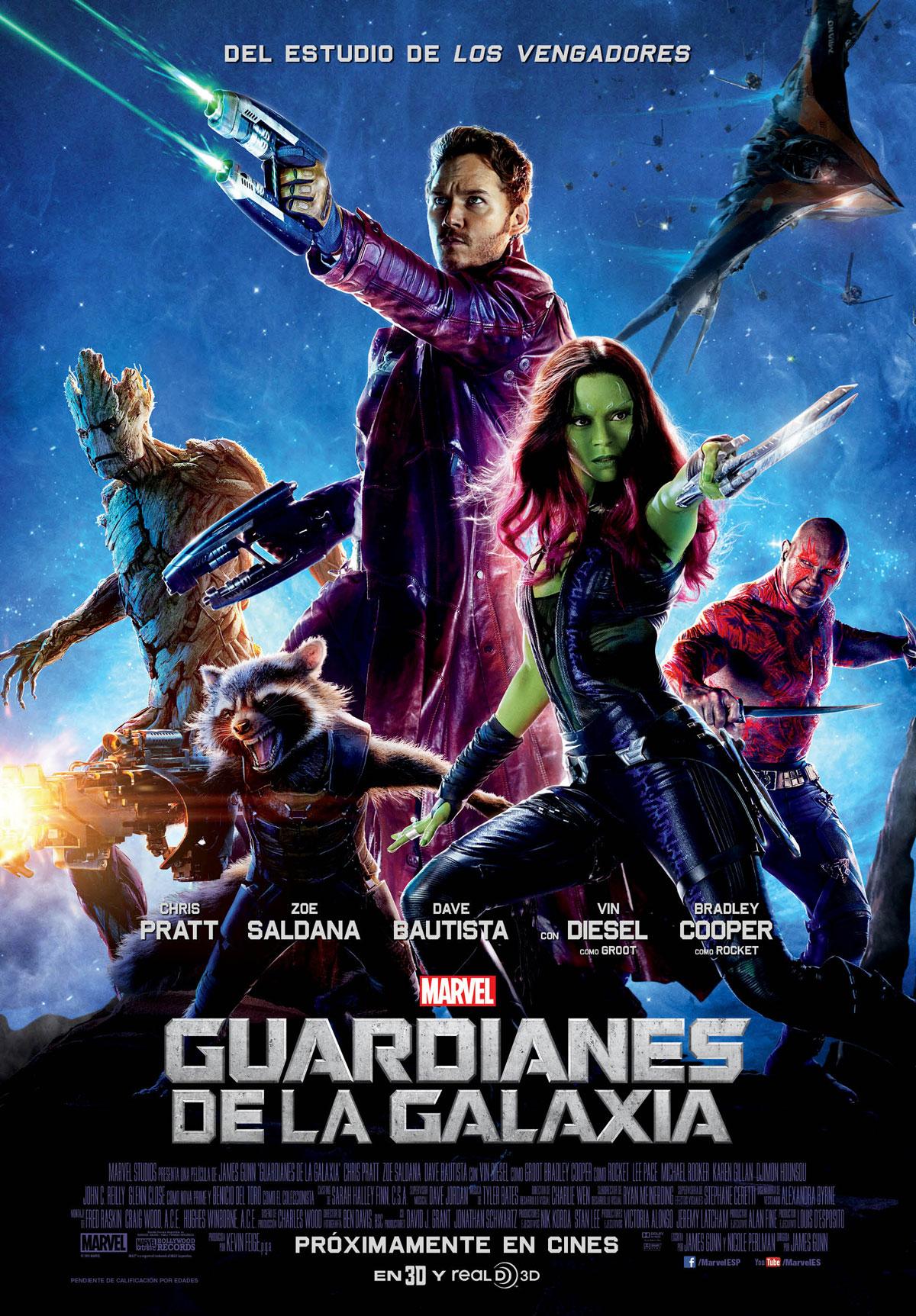 Guardianes de la galaxia - Película 2014 - SensaCine.com