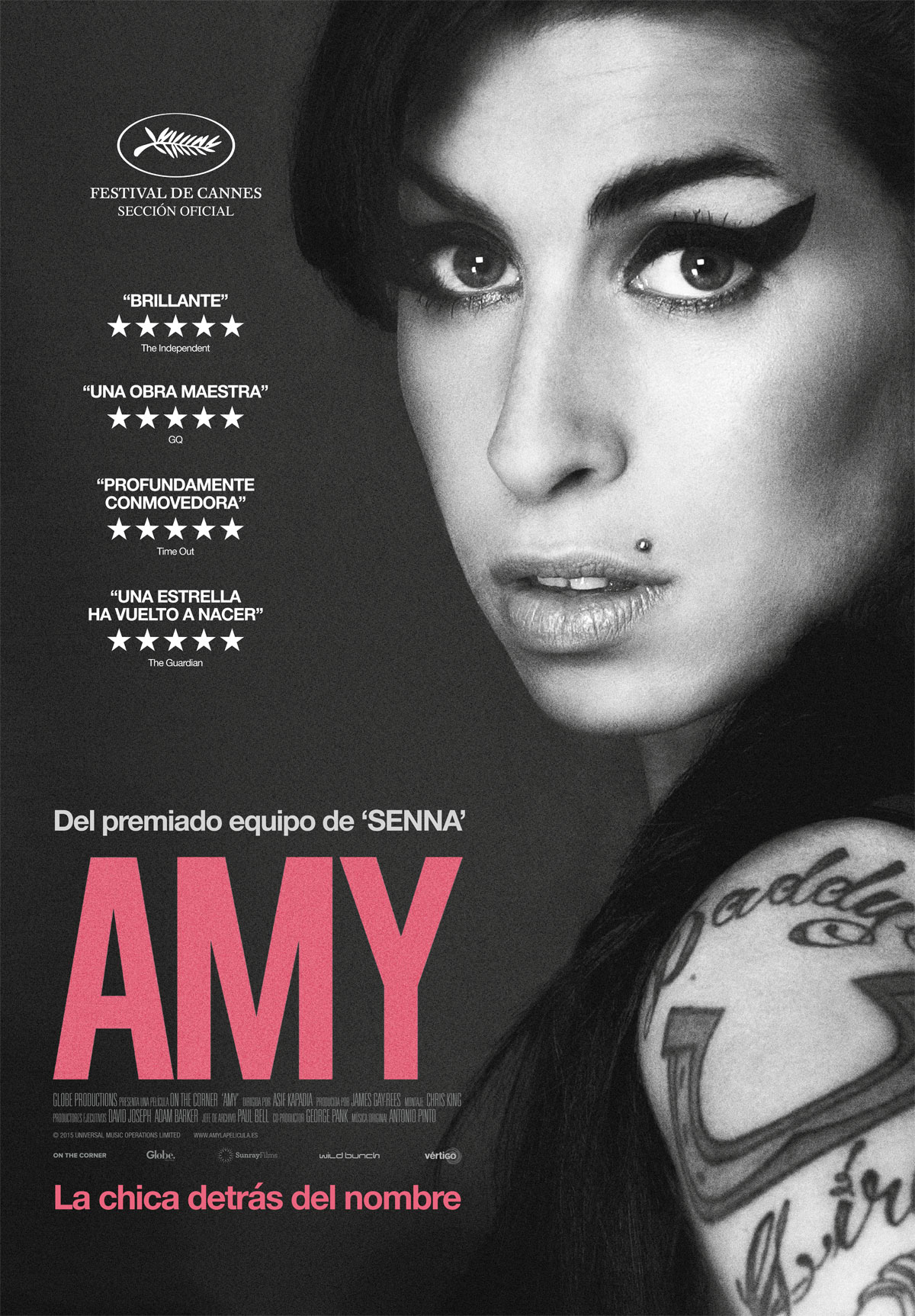 Amy (La chica detrás del nombre) - Película 2015 - SensaCine.com