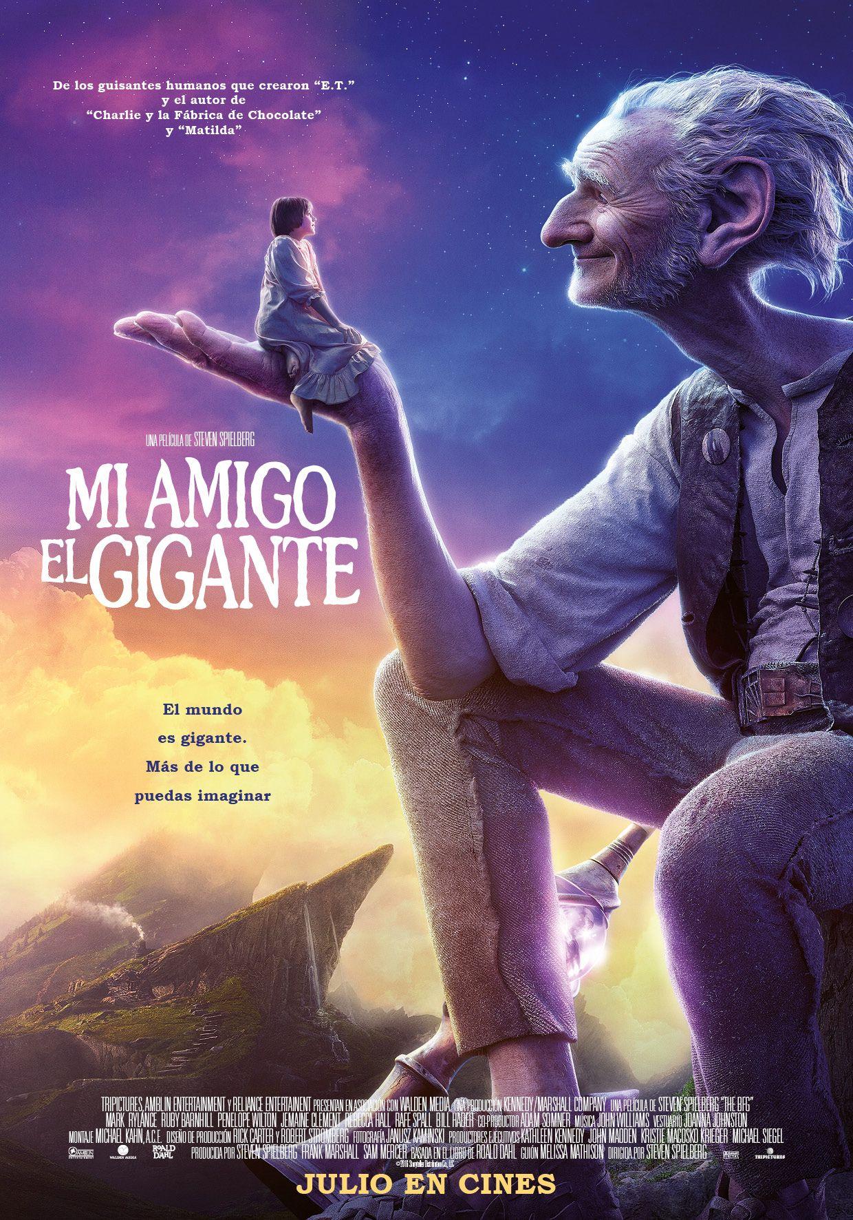 póster de Mi amigo el gigante