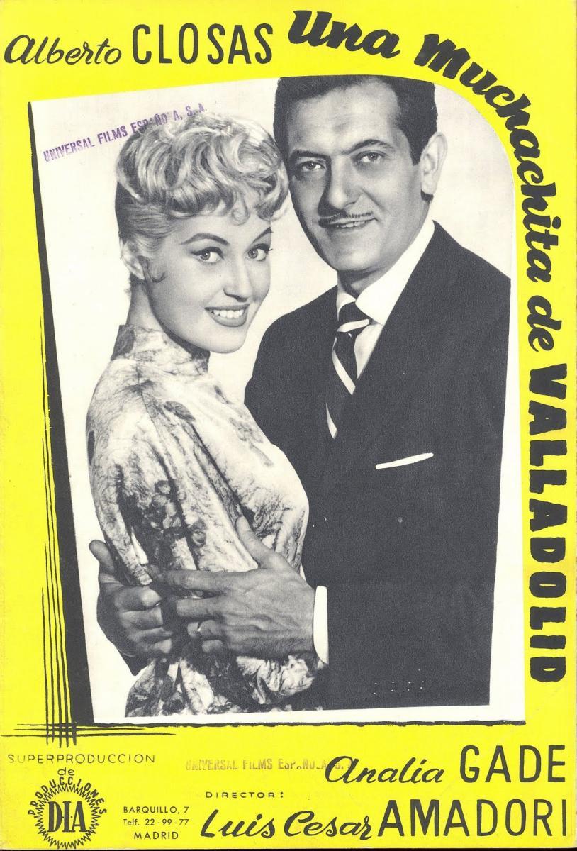Actriz Porno Valladolid Española una muchachita de valladolid - película 1958 - sensacine