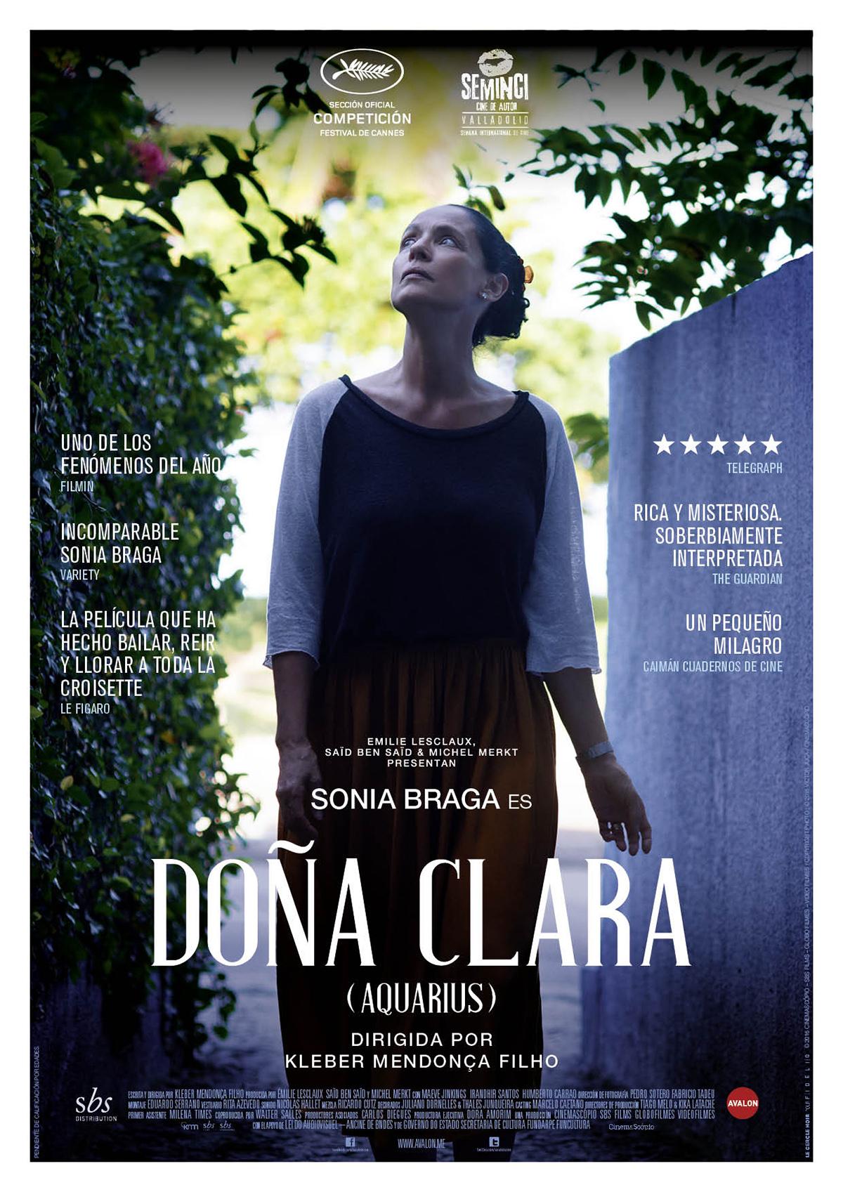 Doña Clara (Aquarius) - Película 2016 - SensaCine.com