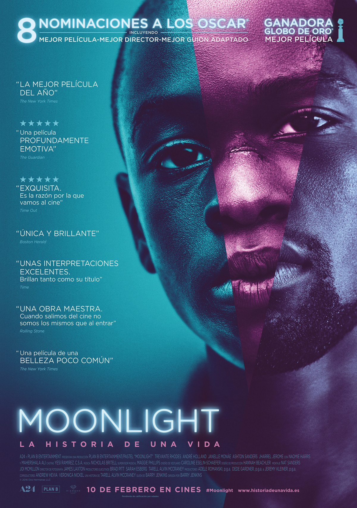 Premios Oscars Moonlight