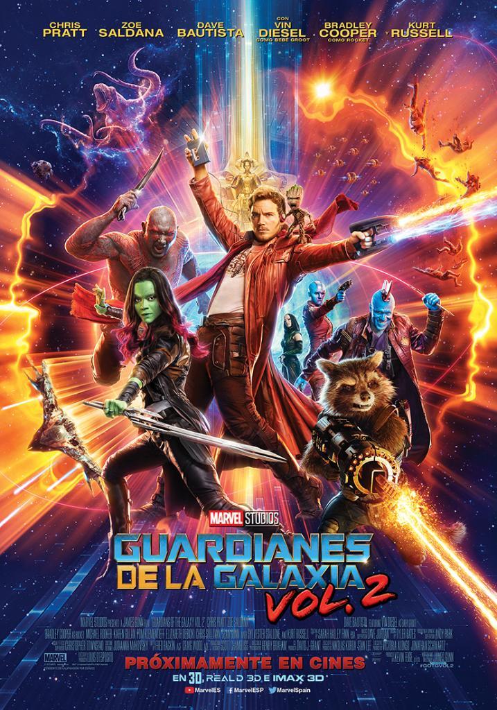 Reparto Guardianes De La Galaxia Vol 2 Equipo Tecnico Produccion Y Distribucion Sensacine Com