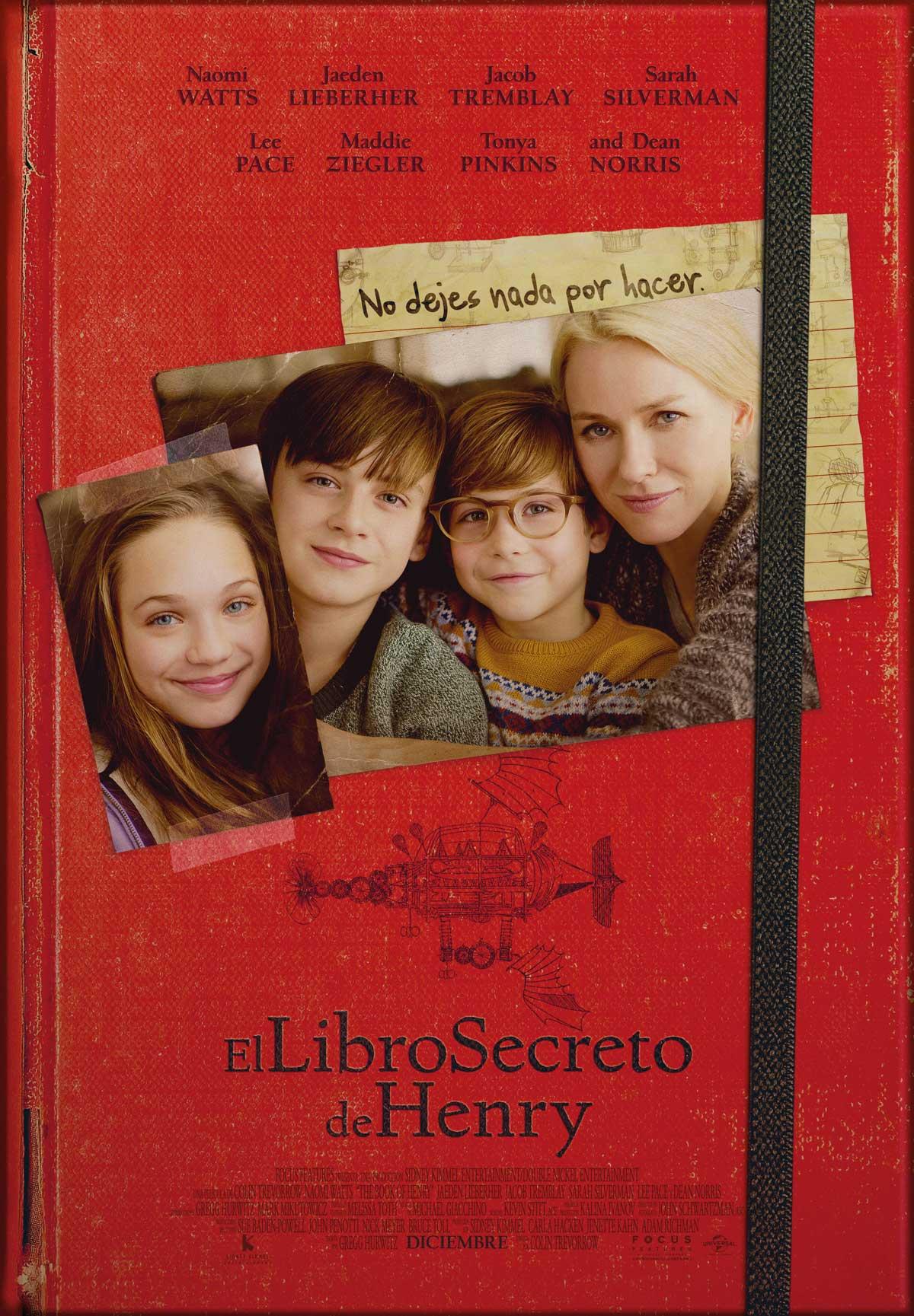 El libro secreto de Henry - Película 2017 - SensaCine.com