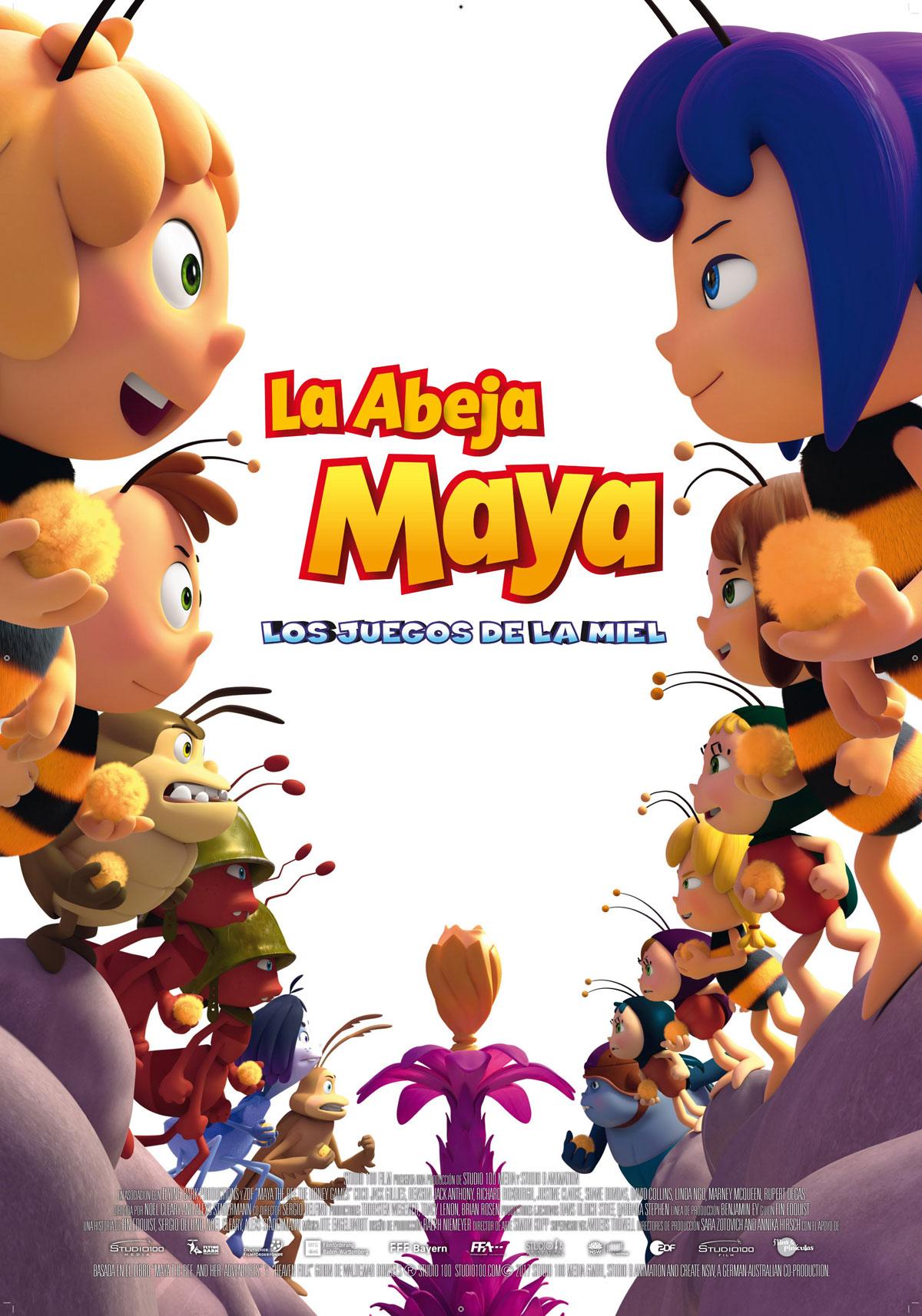 Resultado de imagem para la abeja maya, los juegos de la miel  movie