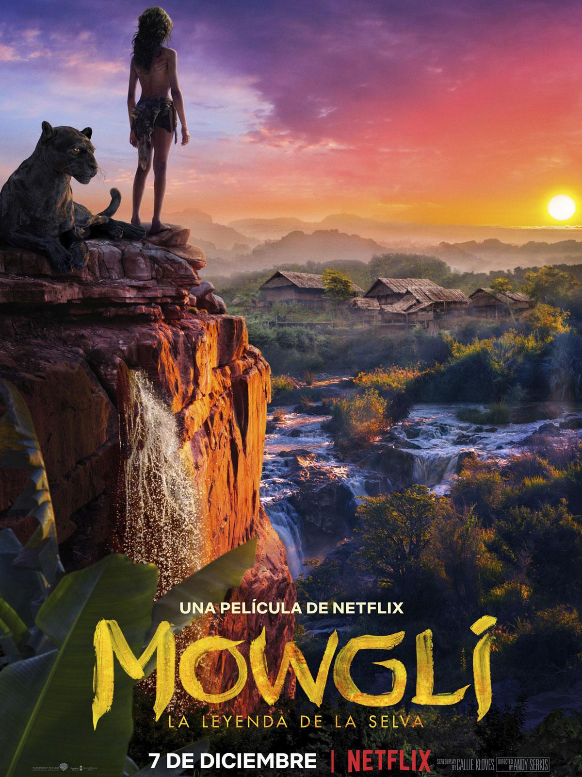 Resultado de imagen de Mowgli pelicula caratula