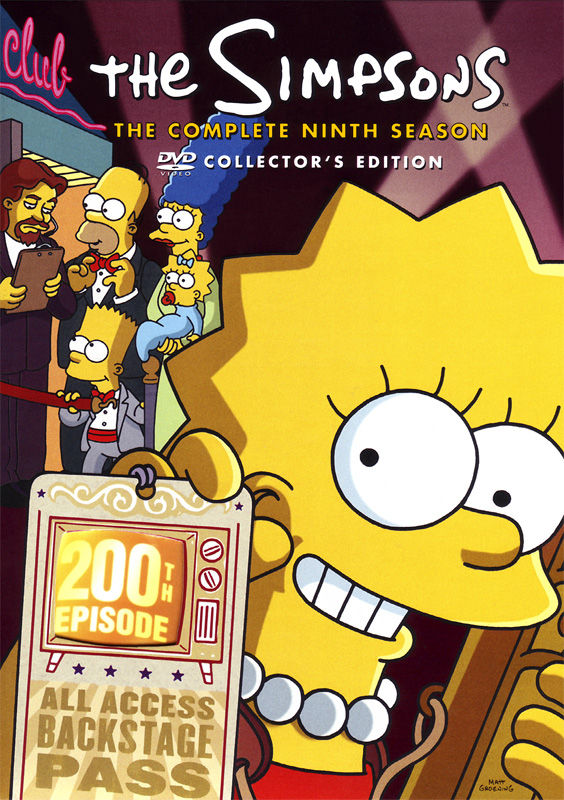 Cartel Los Simpson - Temporada 9 - Poster 34 sobre un total de 39 -  SensaCine.com