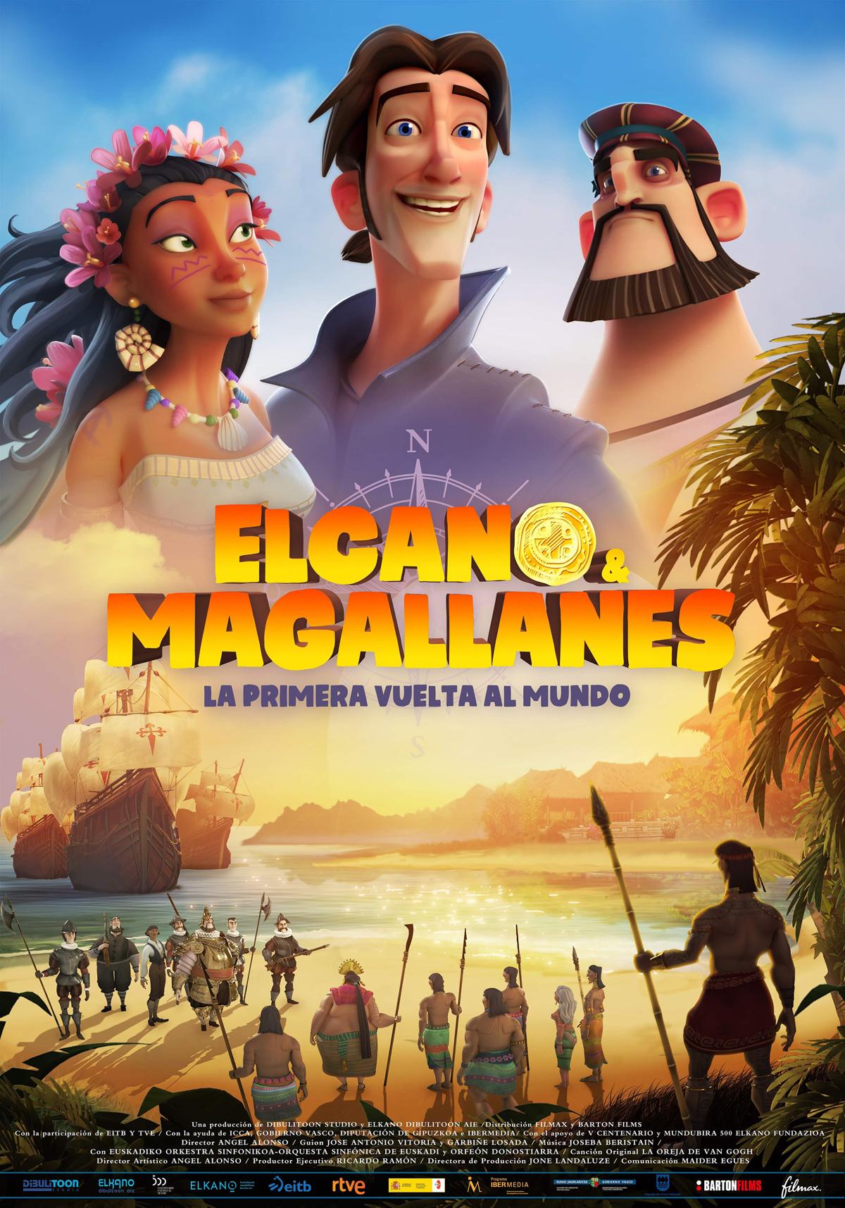 [好雷] 環遊世界大冒險 Elcano y Magallanes (2019 西班牙動畫長片)