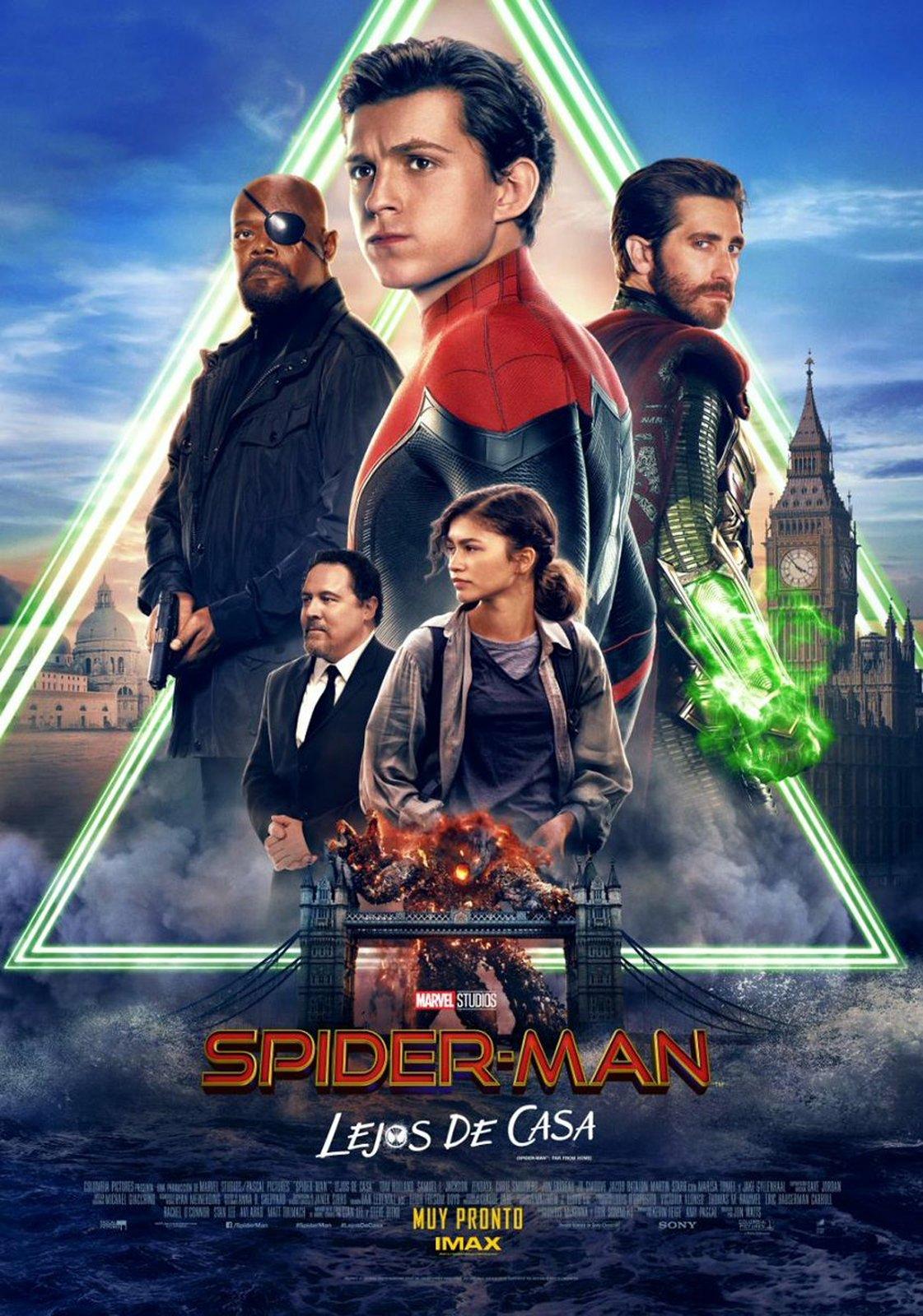 Spider Man Lejos De Casa Película 2019 Sensacine Com